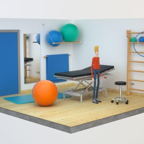 """""""Junge Helden: Ablauf einer Organspende"""" (2015, Uli Henrik Streckenbach)"""