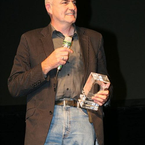 Thomas Zauner from Scanline accepted the animago award for Bully in 2007 in representation