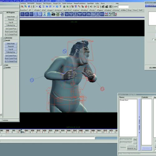 """Yeti animation for """"Lissi and the Wild Emperor"""""""