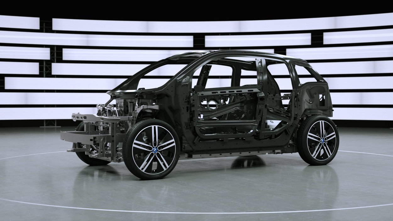 BMW i3 Tech Animation