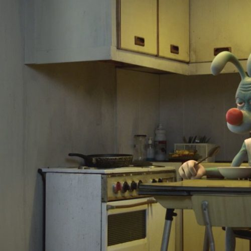 Final Shot with the 3D character