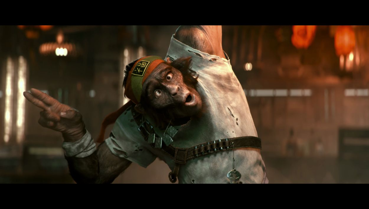 BGE Cinematic chimp Knox