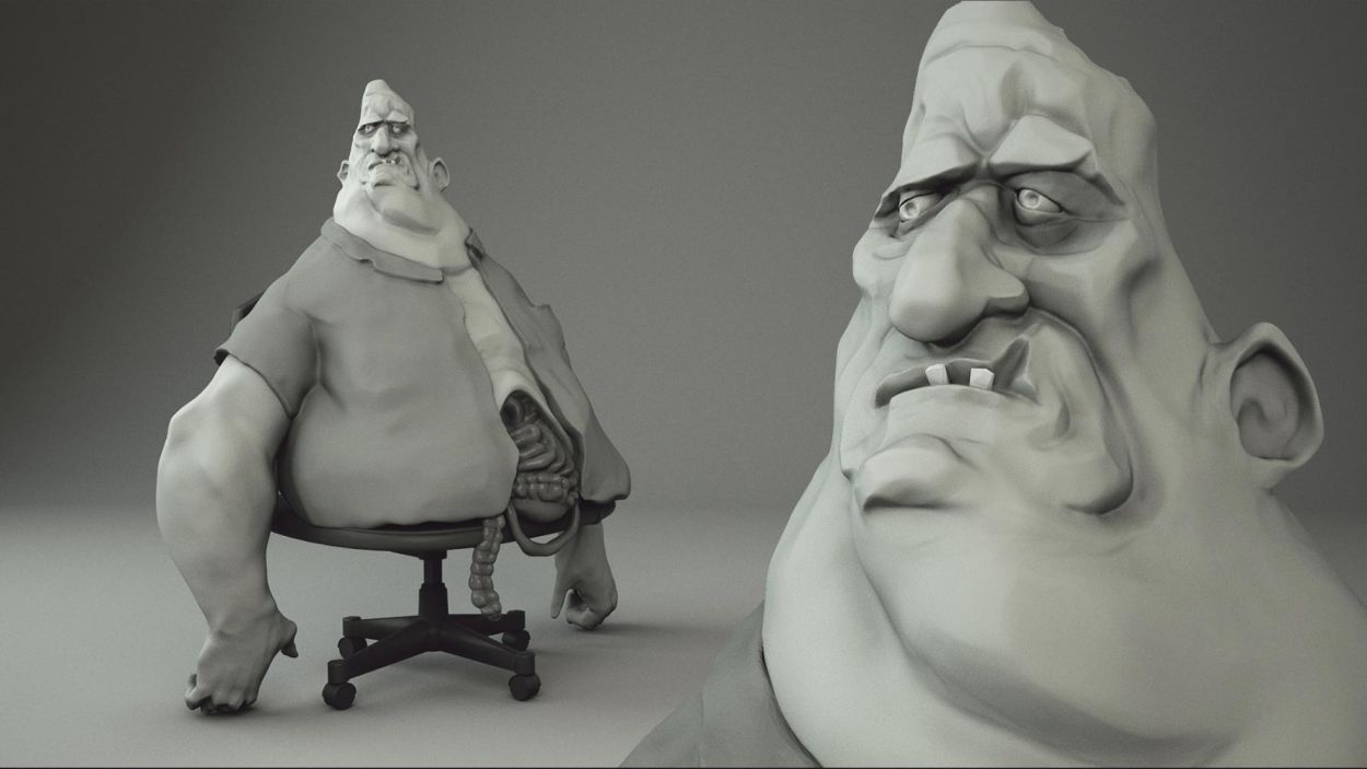 Sculpting Don