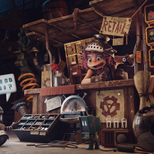 """The Junk Shop"" - AENDOM, Alejandro Treviño, Anaïs Maamar"