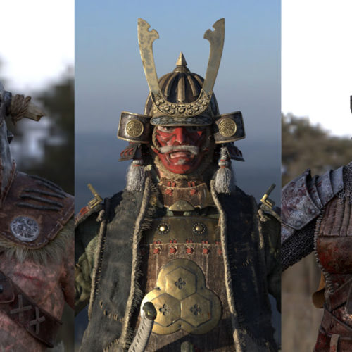 """For Honor"" 3D-Characters"