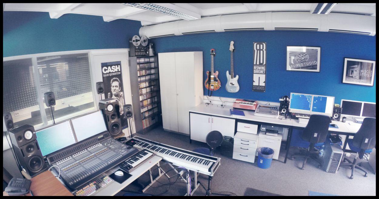 Aufnahmestudio der TH Nürnberg