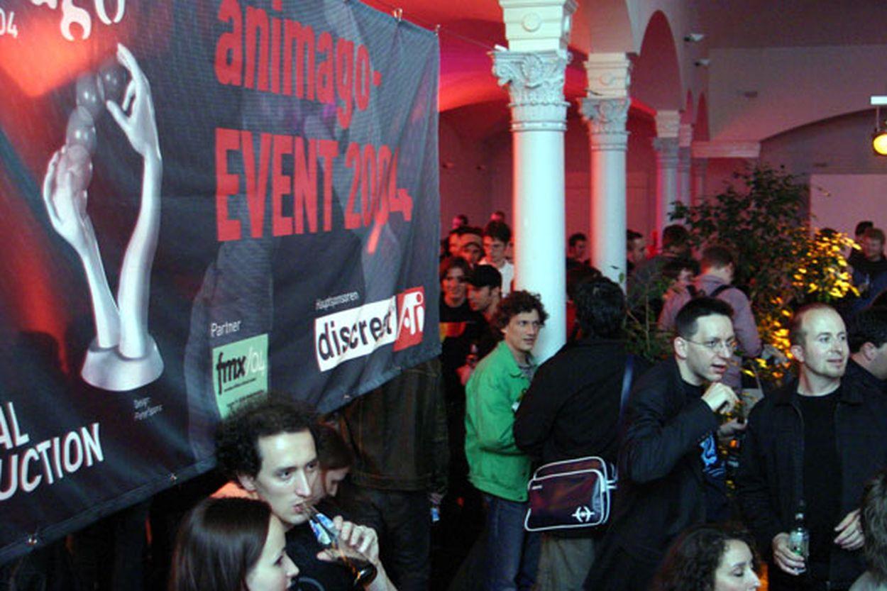 animago Event 2004 im Rahmen der FMX