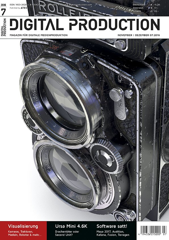 "Cover: ""Rolleiflex"", Glen Johnson"