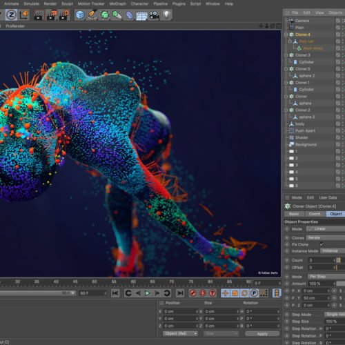 Cinema4D Studio R20 - Software Screenshot