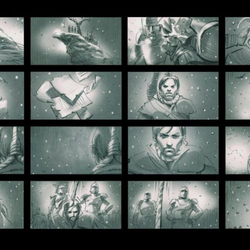 "Anniversary Prize ""Assassin's Creed: Revelations"" Storyboard"