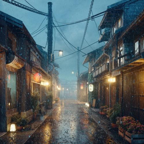 """Heavy rain"" - P&M Studio, Marcin Lusnia"